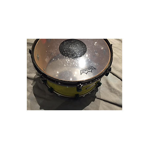 In Store Used Used PALMETTO 7X13 CUSTOM SNARE HIGHLIGHTER GREEN Drum