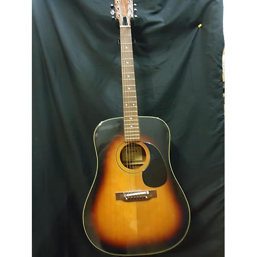 In Store Used Used PAN H595 Sunburst Acoustic Guitar-thumbnail