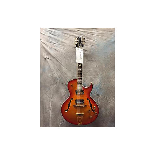 In Store Used Used PARCHMAN FARM 2013 SON Cherry Sunburst Hollow Body Electric Guitar-thumbnail