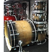 Used PDP 5 piece Concept Series Limited Edition Exotic Walnut Drum Kit