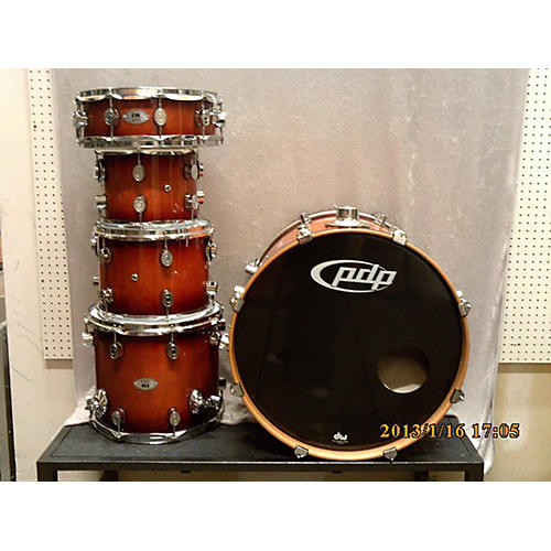 In Store Used Used PDP 5 piece M5 Maple Amber Drum Kit
