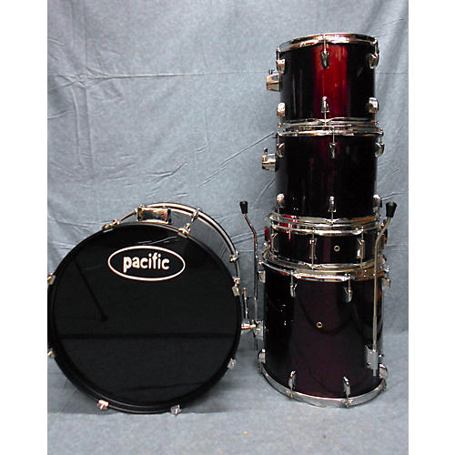 In Store Used Used PDP 5 piece Pacific Red Drum Kit
