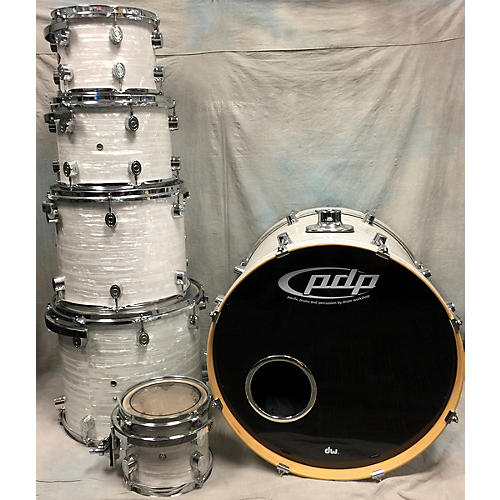 In Store Used Used PDP 6 piece Cx Series White Onix Drum Kit