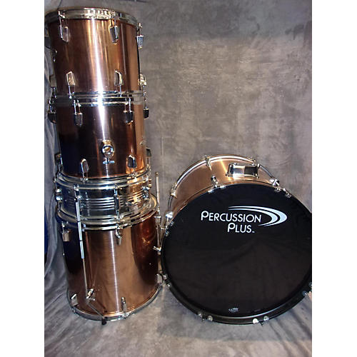 In Store Used Used PERCUSSION PLUS 5 piece P1 Copper Drum Kit-thumbnail