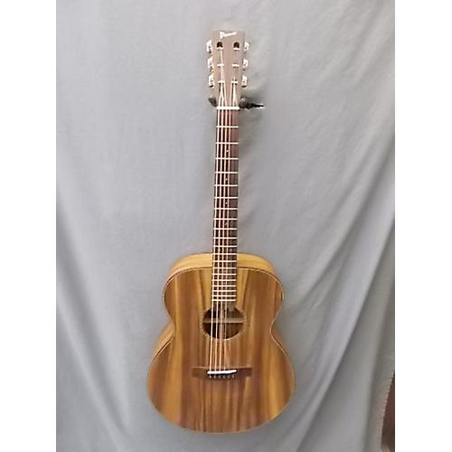 In Store Used Used PONO 2014 CS10V Mahogany Acoustic Electric Guitar-thumbnail
