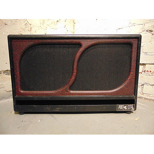 In Store Used Used PORT CITY AMPLIFICATION CUSTOM WAVE 2X12 Guitar Cabinet-thumbnail
