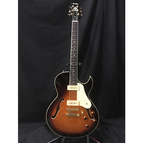 In Store Used Used PRESTIGE NYS STANDARD SEMI HOLLOW Tobacco Sunburst Hollow Body Electric Guitar-thumbnail