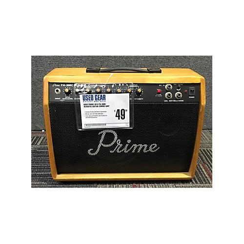 In Store Used Used PRIME 2014 PA-30RC Acoustic Guitar Combo Amp-thumbnail