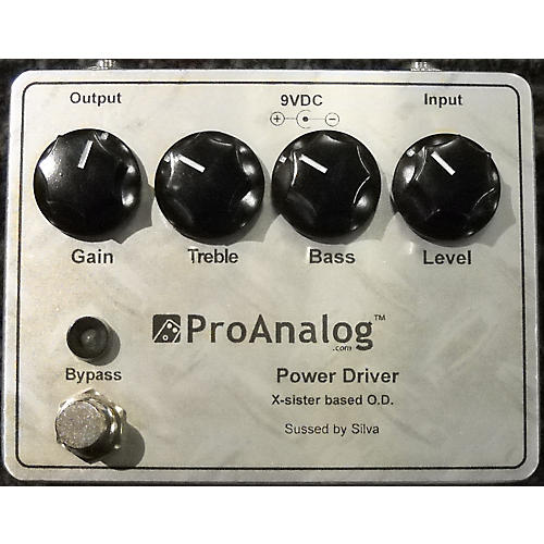 In Store Used Used PRO ANALOG POWER DRIVER Effect Pedal-thumbnail