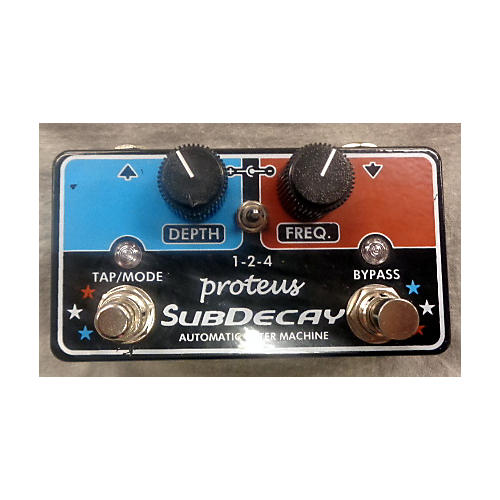 In Store Used Used PROTEUS SUBDECAY AUTO FILTER Effect Pedal