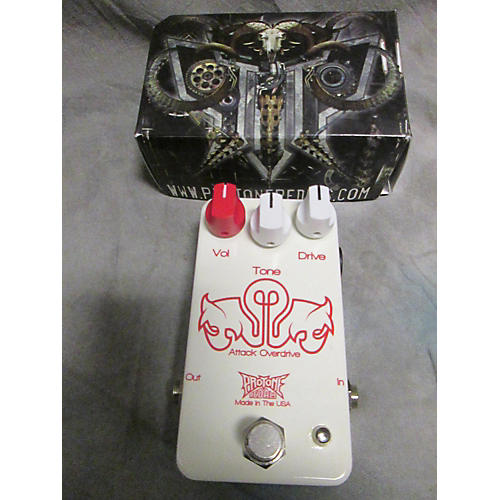 In Store Used Used PROTONE ATTACK OVERDRIVE Effect Pedal-thumbnail