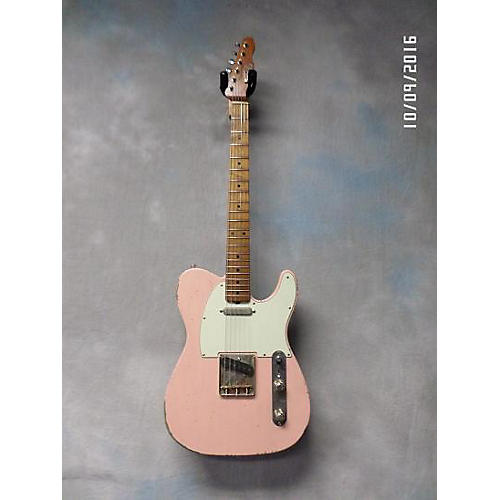 In Store Used Used Palir Titan Pink Solid Body Electric Guitar-thumbnail