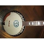 Used Pan 1970s Bottlecap Natural Banjo