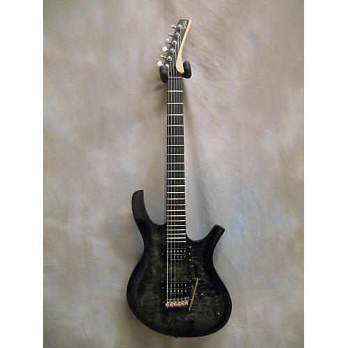 In Store Used Used Parker Maxxfly PDF100 Trans Charcoal Solid Body Electric Guitar-thumbnail