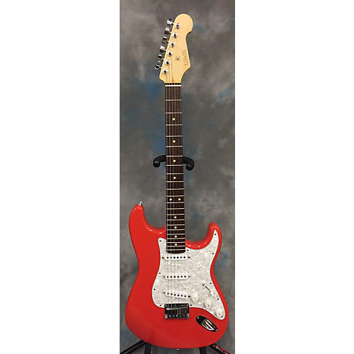 In Store Used Used Parts Strat 2000s Stratocaster Fiesta Red Solid Body Electric Guitar