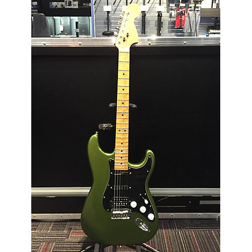 In Store Used Used Parts Stratocaster Metallic Green Solid Body Electric Guitar-thumbnail
