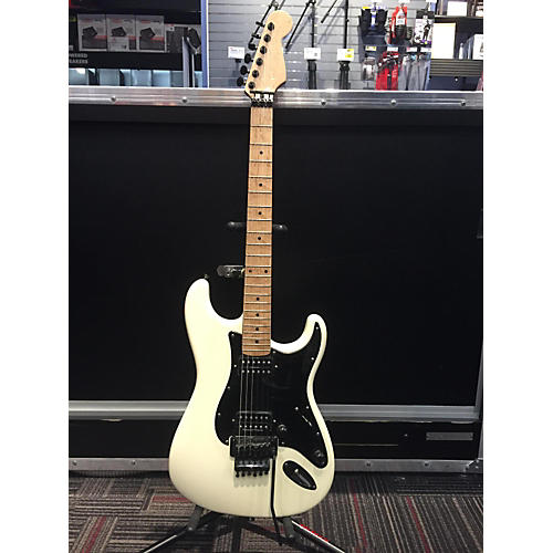 In Store Used Used Parts Super Strat White Solid Body Electric Guitar