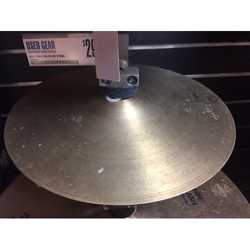 In Store Used Used Pasha 10in Splash Cymbal