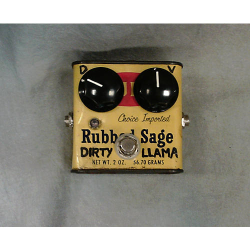 In Store Used Used Patina Pedals Rubbed Sage Dirty Llama Effect Pedal-thumbnail
