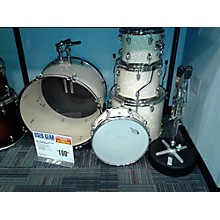 Used Percussion 5 piece Plus Pearl White Drum Kit