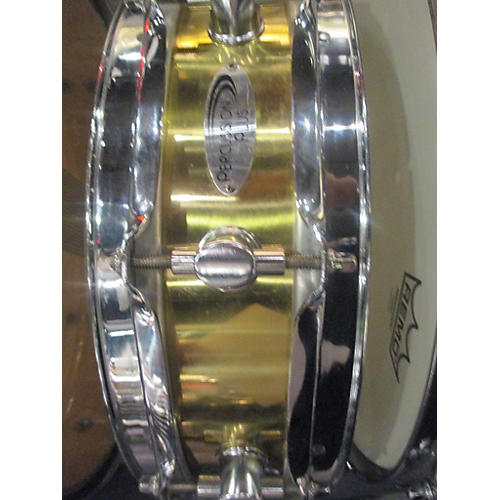In Store Used Used Percussion Plus 3.5X13 PP210 Brass Piccolo Natural Finish Drum