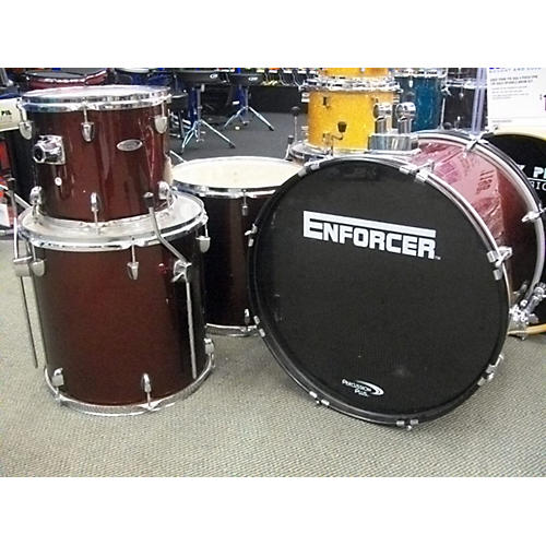 In Store Used Used Percussion Plus 4 piece N\a Red Drum Kit