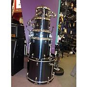 Used Percussion Plus 5 piece 5 Piece Navy Blue Drum Kit