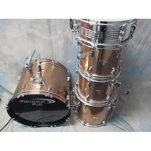 In Store Used Used Percussion Plus 5 piece Copper + Shimmering Copper Drum Kit
