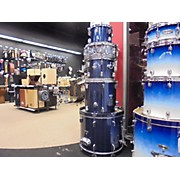 Used Percussion Plus 5 piece Standard Set Steel Blue Drum Kit