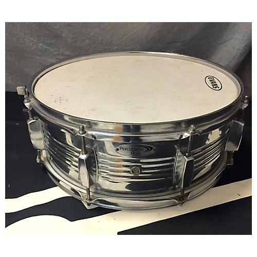 In Store Used Used Percussion Plus 5X14 Snare Drum Chrome Chrome Drum-thumbnail