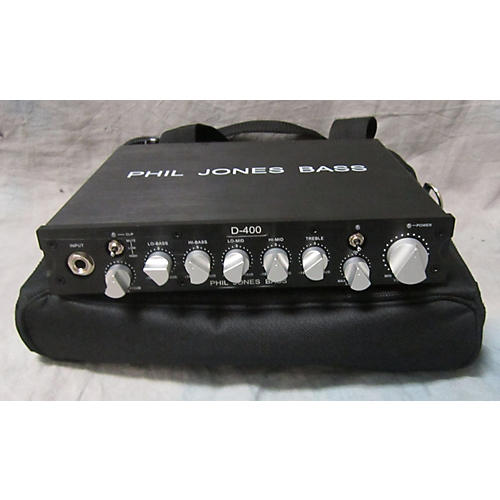 In Store Used Used Phil Jones D-400 Bass Amp Head-thumbnail