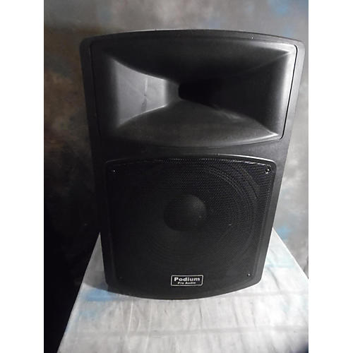 In Store Used Used Podium Pro Audio PP1503a Powered Speaker