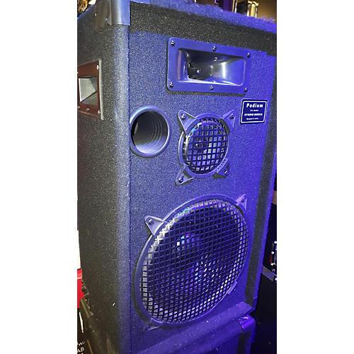 In Store Used Used Podium Pro Audio Unpowered Speaker-thumbnail
