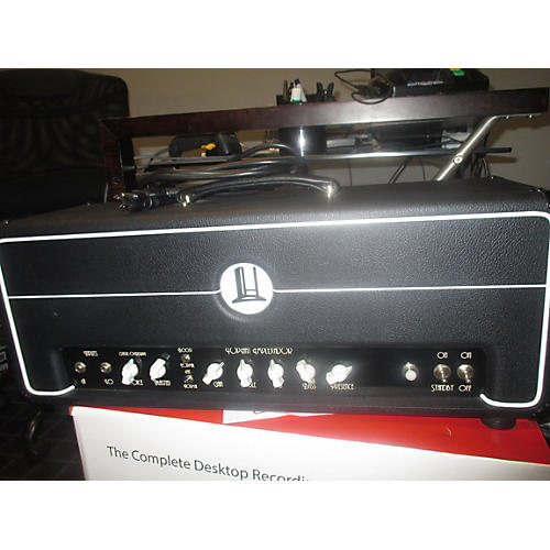 In Store Used Used Pophat Amplication Model P-e100 Mkii Tube Guitar Amp Head-thumbnail