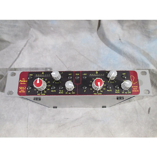 In Store Used Used Portico 5012 DUO MIC PRE Microphone Preamp