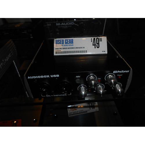 In Store Used Used Pre Sonus Audiobox USB Audio Interface