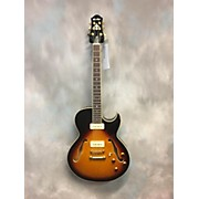 Used Prestige 2016 NYS Tobacco Sunburst Hollow Body Electric Guitar