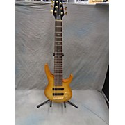 Used Prestige Phoenix Yellow Electric Bass Guitar