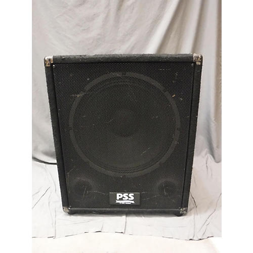 In Store Used Used Pro Sound PSS15 2 Way Unpowered Speaker-thumbnail