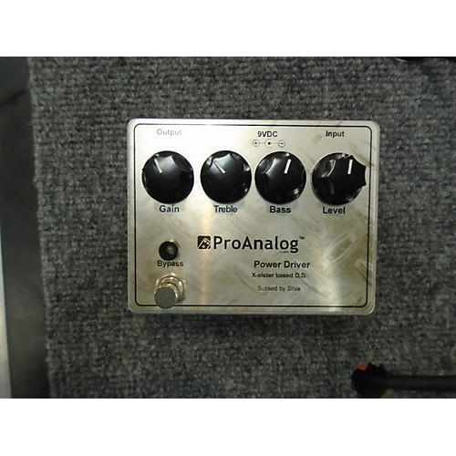 In Store Used Used Proanalog Overdrive Effect Pedal
