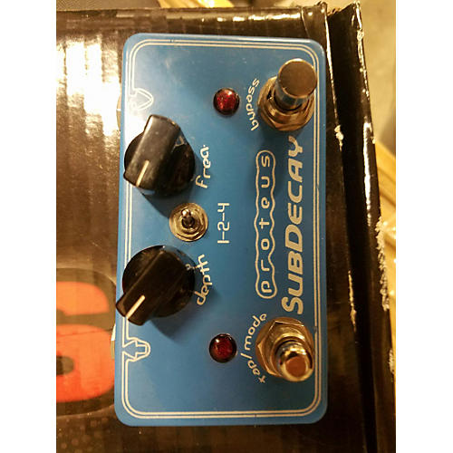 In Store Used Used Proteus Subdecay Effect Pedal-thumbnail