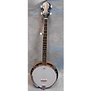 Used R W Jamson 5 String Banjo Natural Banjo