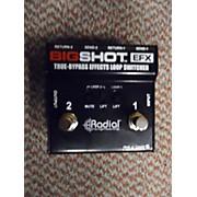 Used RADIAL BIG SHOT EFX Pedal