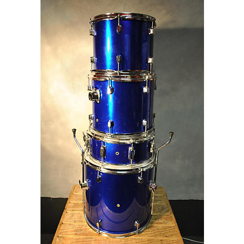 In Store Used Used RADICAL 5 piece STANDARD Blue Drum Kit