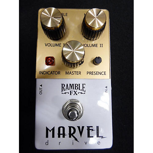 In Store Used Used RAMBLE FX MARVEL DRIVE Effect Pedal-thumbnail