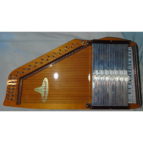 In Store Used Used RBI CHROME A HARP Natural Autoharp-thumbnail