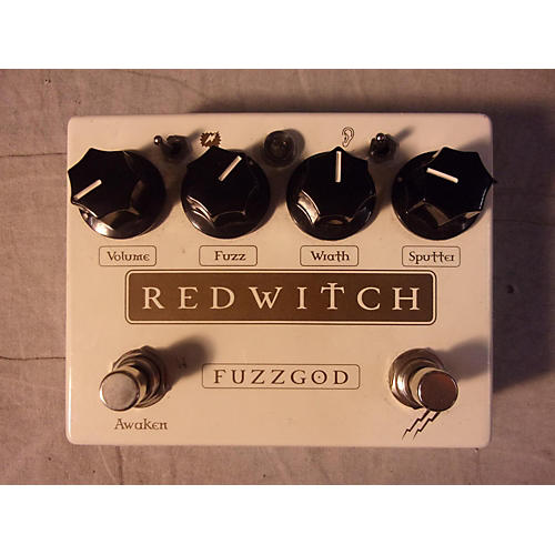 In Store Used Used REDSWITCH FUZZ GOD Effect Pedal-thumbnail
