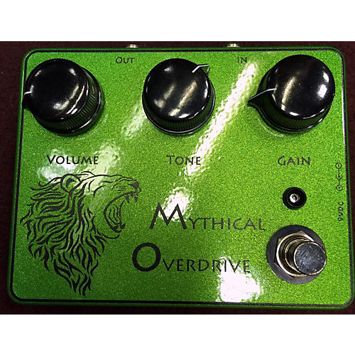 In Store Used Used RIMROCK MYTHICAL OVERDRIVE GREEN Effect Pedal