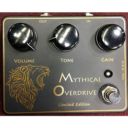 In Store Used Used RIMROCK MYTHICAL OVERDRIVE LIMITED EDITION Effect Pedal
