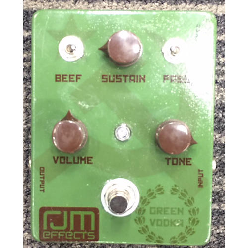 In Store Used Used RJM Green Vodka Fuzz Effect Pedal-thumbnail